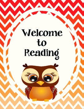 Welcome to Reading Halloween Freebie