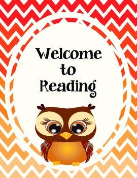 Welcome to Reading Halloween Freebie