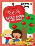 Welcome to Red Apple Tree Farm Snack Shack {Dramatic Play}