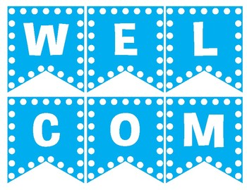 Welcome to School Banner