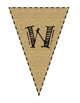 Welcome to School Pennant Banner