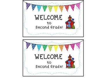 Welcome to School Post Card