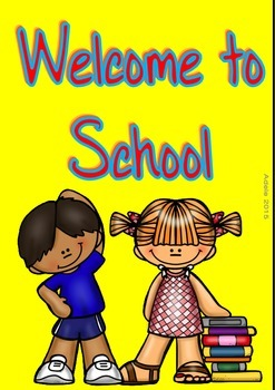 Welcome to School Poster