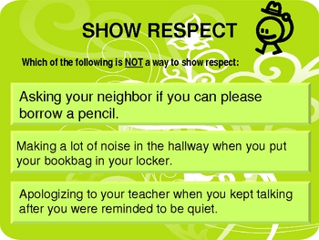 Welcome to School:  Rules and Consequences  (PBIS)