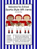 Welcome to School - Sport Style Gift Cards