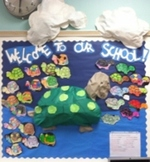 Welcome to School Turtle Bulletin Board