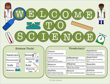 Welcome to Science! Bulletin Board and Vocabulary Word Wall!