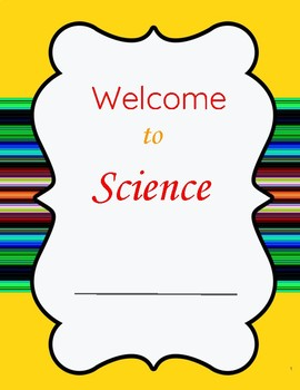 Welcome to Science/Start of the Year Unit/Getting Started in Science