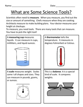 Welcome to Science! Unit Plan-Lessons, Bulletin Board, Center, Reading and More!