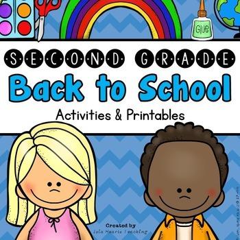 Back to School: 2nd Grade Back to School Activities