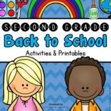 Back to School: 2nd Grade Back to School Activities