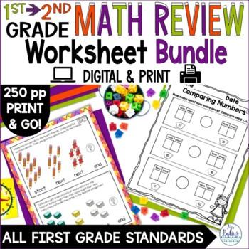 Second Grade Math Review BOY Review CCSS Aligned
