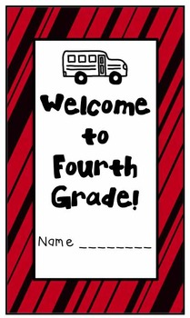 Welcome to Fourth Grade (Back to School Book)