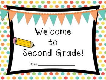 Welcome to Second Grade Book to Get to Know Your Students