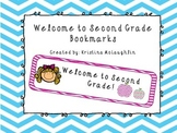 Welcome to Second Grade Bookmarks