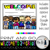 Welcome to Second Grade Certificate