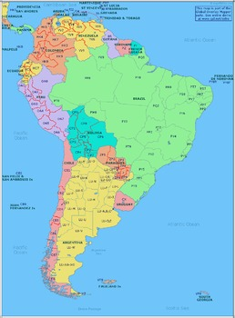 Welcome to South America Research Packet/ Travel Brochure Project