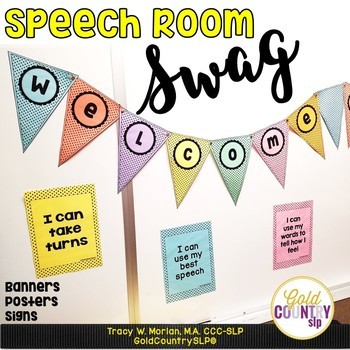 Welcome to Speech DIY Chevron Signs! BONUS door signs included!