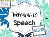 Welcome to Speech Signs
