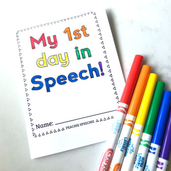 Welcome to Speech Therapy Foldable Booklets