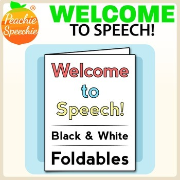Welcome to Speech Therapy Foldables