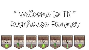 Welcome to TK Farmhouse Banner