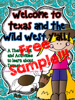 Welcome to Texas and the Wild West FREE SAMPLE  in SPAN & ENGL