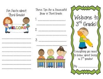 Welcome to Third Grade Brochure