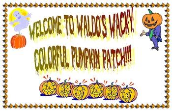 Welcome to Waldo's wacky colorful pumpkin patch