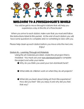 Welcome to a Preschooler's World!