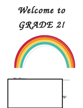 Welcome to grade 2 package