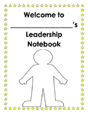 Welcome to my Leadership Notebook - Leadership Binder