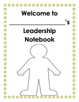 Welcome to my Leadership Notebook - Leadership Binder