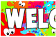 Welcome to my class Banner Classroom Decoration Borders