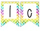 Welcome to our Class Rainbow Theme Banner