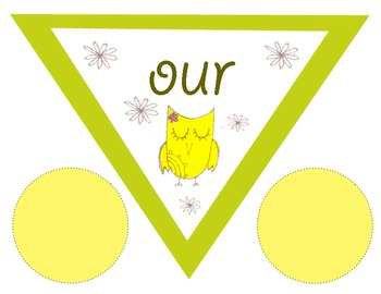 'Welcome to our Class!' printable Owl Banner