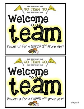 Welcome to our Team cards