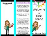 Welcome to school brochure editable