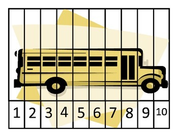 Welcome to school number puzzle