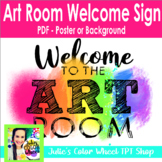Welcome to the Art Room Desktop Background or Poster