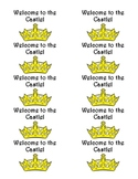 Welcome to the Castle LABELS- Avery 48363