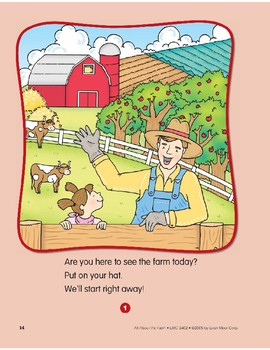 Welcome to the Farm!: Circle-Time Book