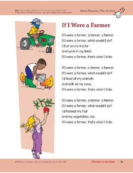 Welcome to the Farm!: Outdoor and Dramatic Play Activities