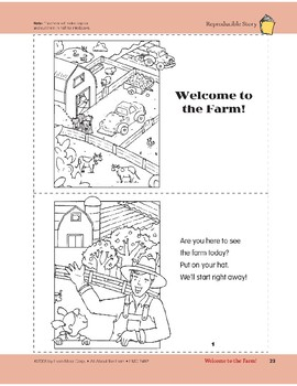 Welcome to the Farm!: Take-Home Book