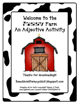 Welcome to the Funny Farm - An Adjective Activity