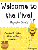 Welcome to the Hive!  Treat tags