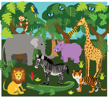 Welcome to the Jungle Classroom Décor Pack