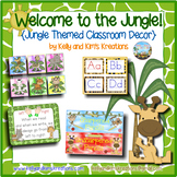 Welcome to the Jungle! {Jungle Themed Classroom Décor}