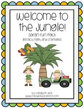 Welcome to the Jungle! {Safari Fun Pack}