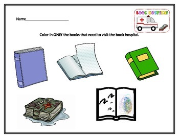 Welcome to the Media Center-Book Care Worksheet
